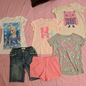 Short Sleeve Tees/Shorts Lot